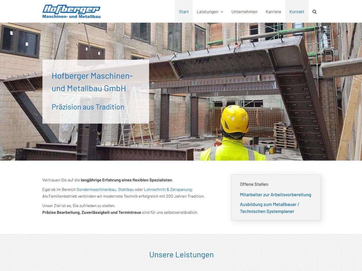 Hofberger Maschinen- und Metallbau